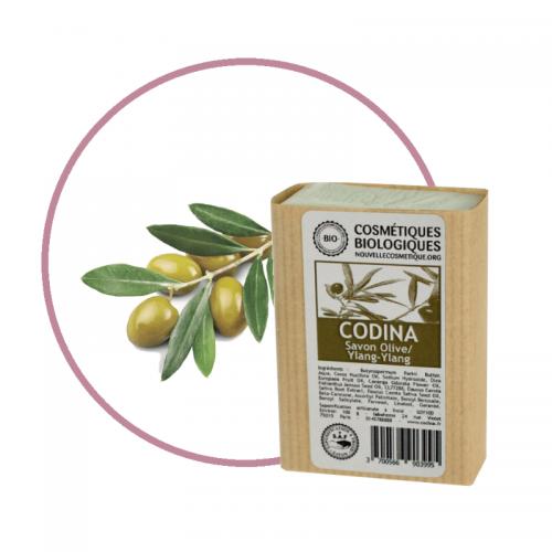 Savon Olive Carotte Ylang-Ylang Codina