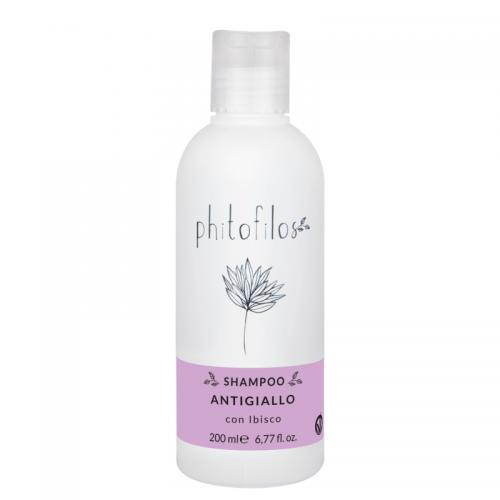 Shampoing Anti-Jaunissement à l'Hibiscus & Orcanette - Phitofilos - MA PLANETE BEAUTE