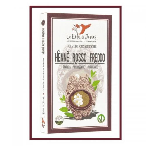 Henné Rouge Froid (Rosso Freddo) BAQ - Le Erbe Di Janas - MA PLANETE BEAUTE