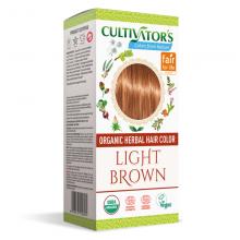 """Coloration Végétale Biologique """"Light Brown"""" (Châtain Clair) - Cultivator's Colors From Nature - MA PLANETE BEAUTE"""