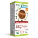 """Coloration Végétale Biologique """"Brown"""" (Châtain Doré) - Cultivator's Colors From Nature"""