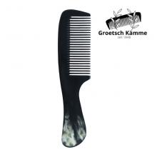 Peigne en Corne à Manche - Martin Groetsch - Cheveux Fins à Normaux - MA PLANETE BEAUTE