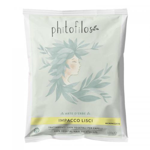 Masque pour Cheveux Raides (Impacco Lisci) - Phitofilos - MA PLANETE BEAUTE