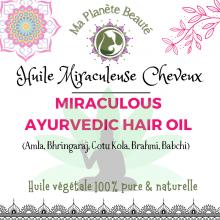 Miraculous Ayurvedic Hair Oil - BIO | Huile Miraculeuse Cheveux - EXCLUSIVITÉ MA PLANÈTE BEAUTÉ