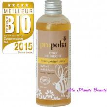Shampoing Doux Miel Bambou Etre De Mèche Propolia