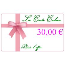 La Carte Cadeau Ma Planète Beauté d'une valeur de 30€