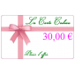 La Carte Cadeau de 30€
