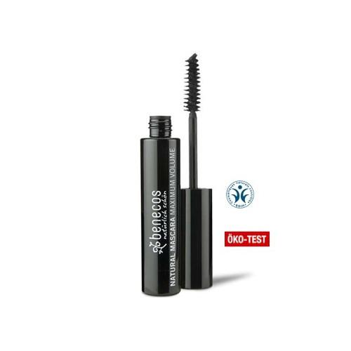 Mascara Maxi Volume Noir Intense Benecos - Ma Planète Beauté