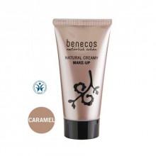 Fond De Teint Crème Bio - Teinte Caramel -Benecos