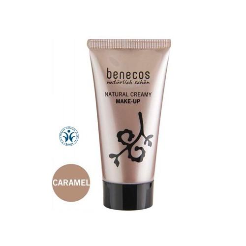 Fond De Teint Crème Bio Benecos Teinte Caramel - Ma Planète Beauté