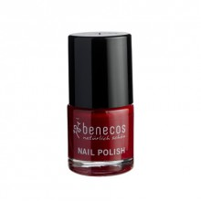 Vernis à Ongles Rouge Cerise Cherry Red 9ml Benecos - Ma Planète Beauté