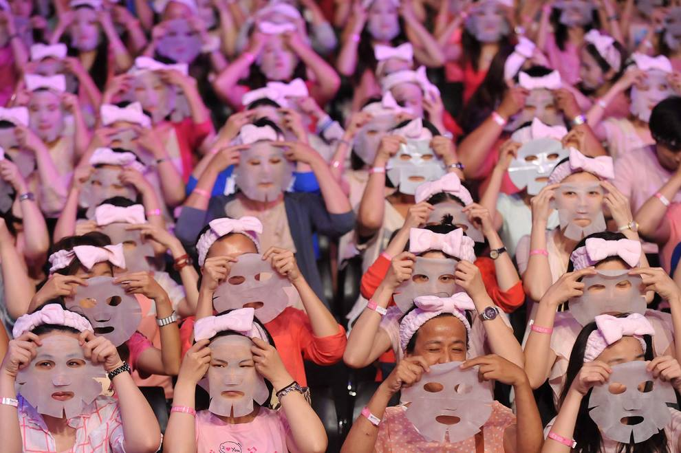 masques de coton