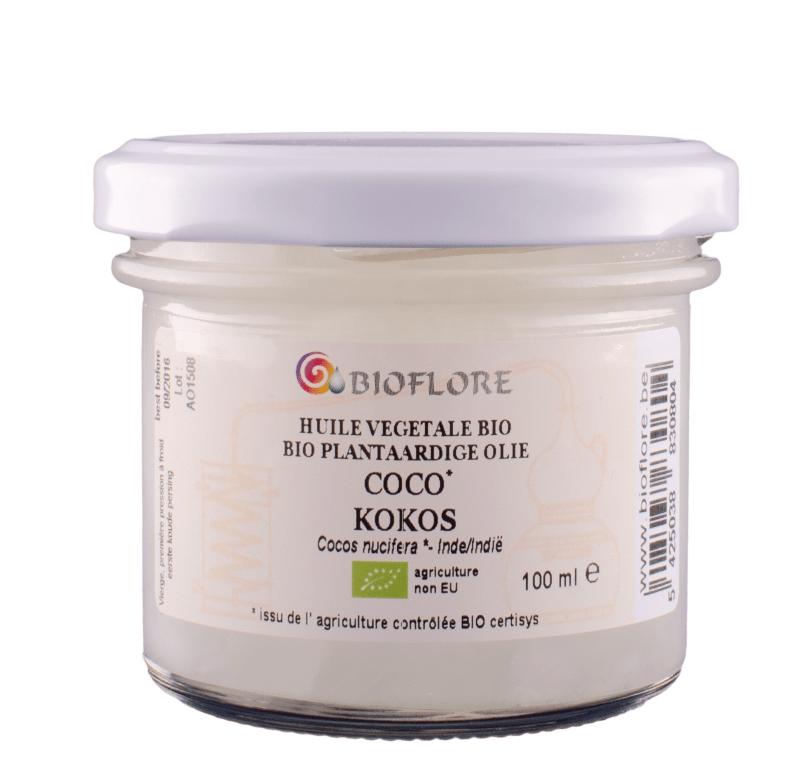 Huile de coco Bioflore | MA PLANETE BEAUTE