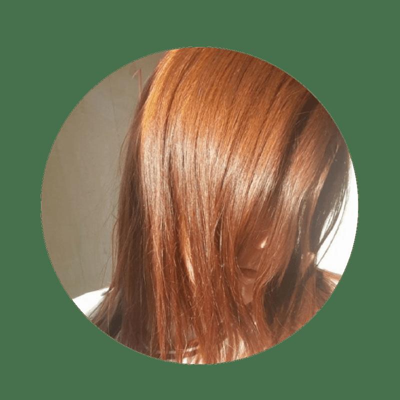 Henné cuivré bio de Perse sur base blonde