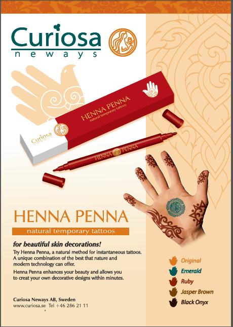 Henna penna - MA PLANETE BEAUTE