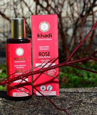 Shampoing rose khadi - MA PLANETE BEAUTE