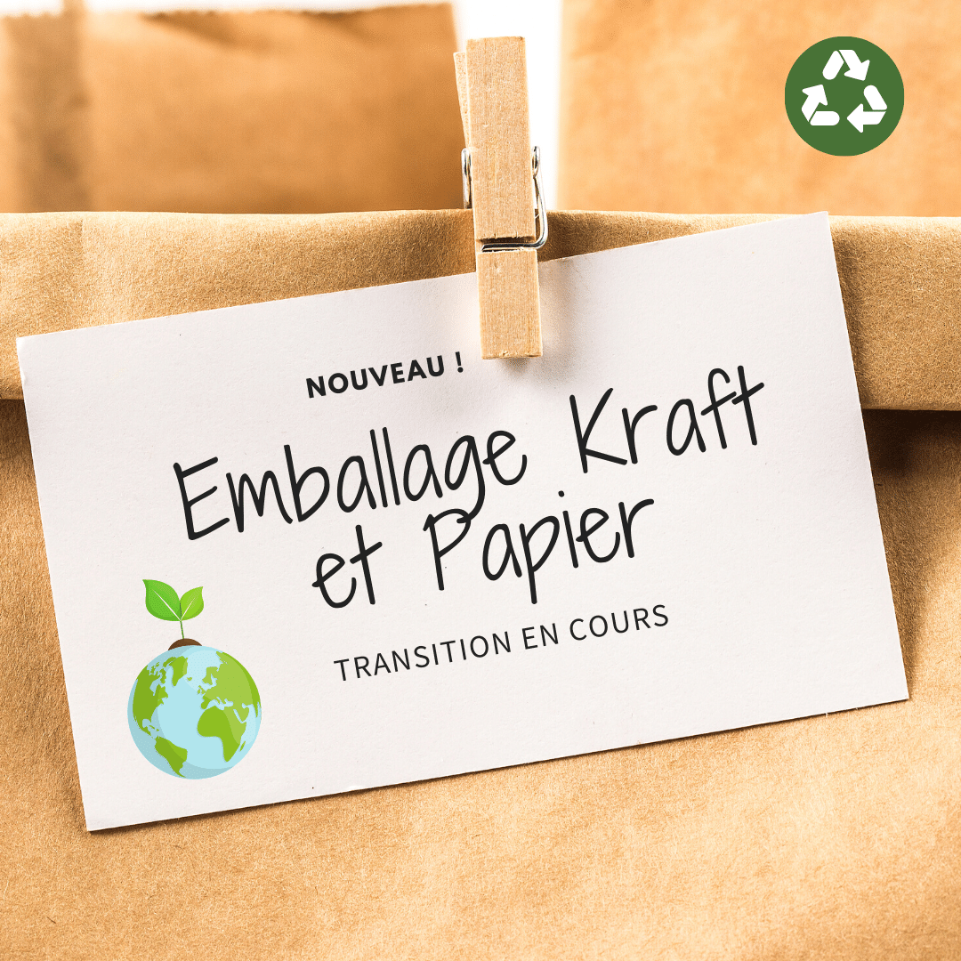 On passe au Kraft et Papier !