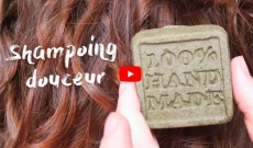 Shampoing solide douceur | Démêlant, fortifiant, hydratant