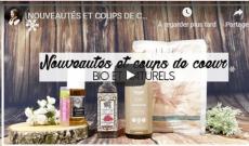 NOUVEAUTÉS ET COUPS DE CŒUR BIO ET NATURELS | SOINS CUTANES ET CAPILLAIRES