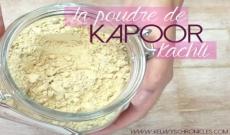 Le Kapoor kachli en shampoing sec : économique, écologique et sain.