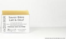 Test du savon corps et cheveux bière lait et oeuf d'En Douce Heure par Kelwy