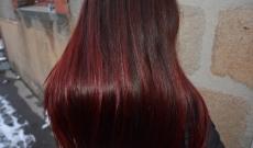 Evolution de mes cheveux avec le henné