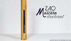 Le mascara structurant noir 080 Zao testé par Kelwy !